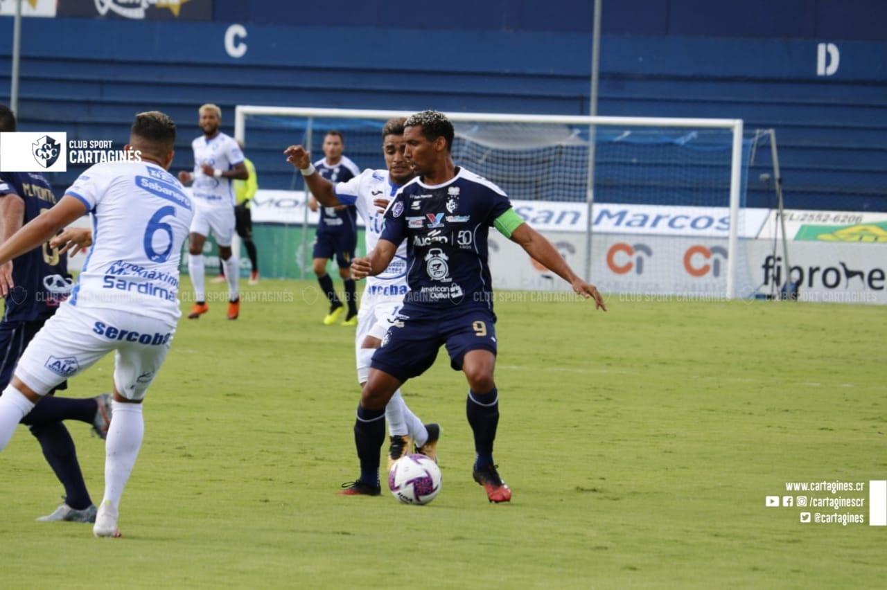 """Cartaginés y Jicaral dividieron honores en el """"Fello"""" Meza."""
