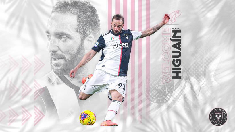Gonzalo Higuaín es nuevo jugador del Inter Miami de David Beckham.