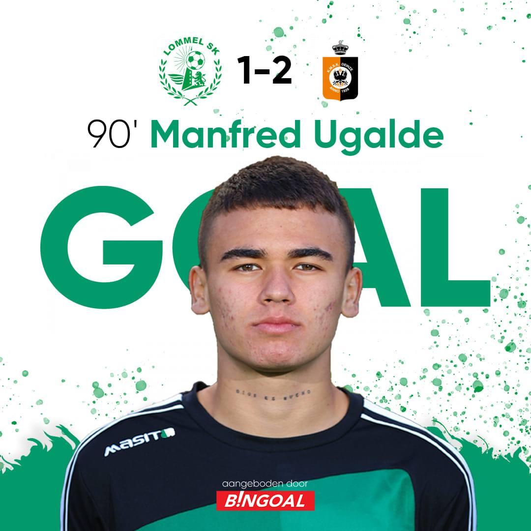 Manfred Ugalde volvió a anotar con su equipo en la segunda division de Bélgica.