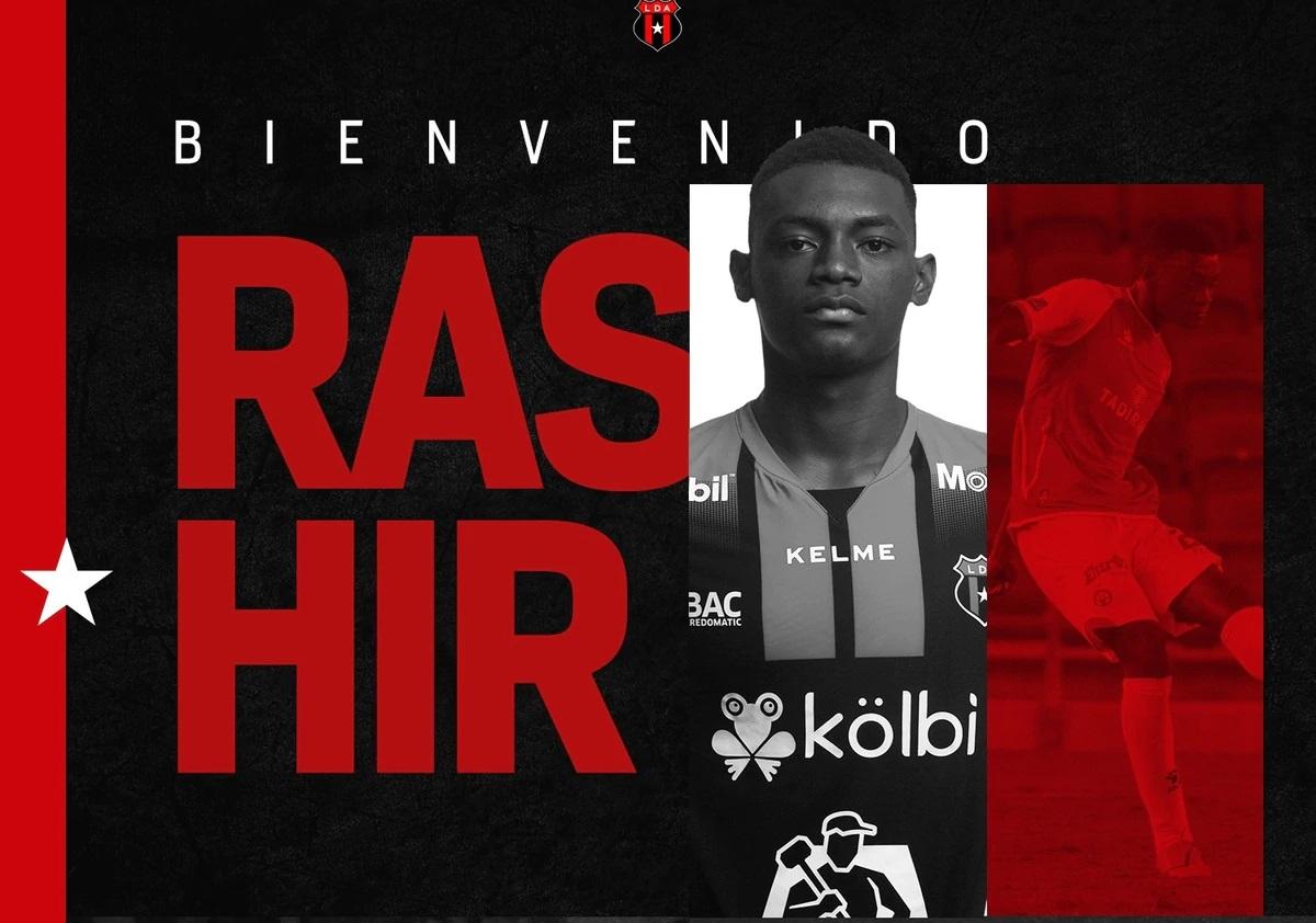 """Limón FC denuncia """"movida administrativa"""" de Alajuelense para no pagar derecho de formación por Rashir Parkins."""