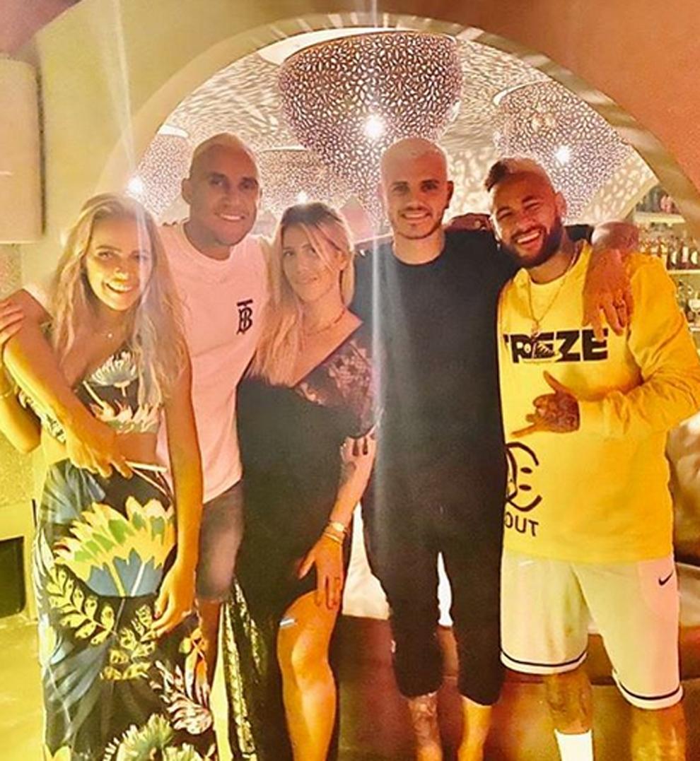 Diario L'Équipe: Icardi, Marquinhos y Keylor Navas dieron positivo con COVID-19.