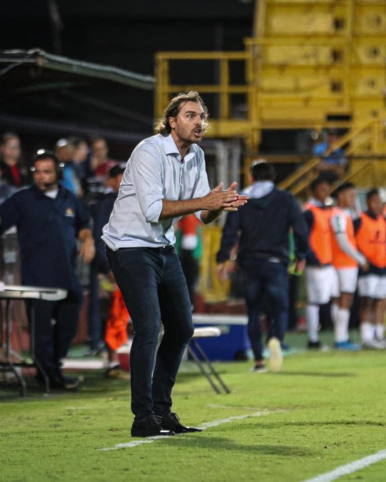 """Andrés Carevic: """"Creo que se pueden sacar muy pocas conclusiones a nivel táctico""""."""