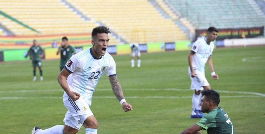 Argentina derrotó a Bolivia en La Paz.