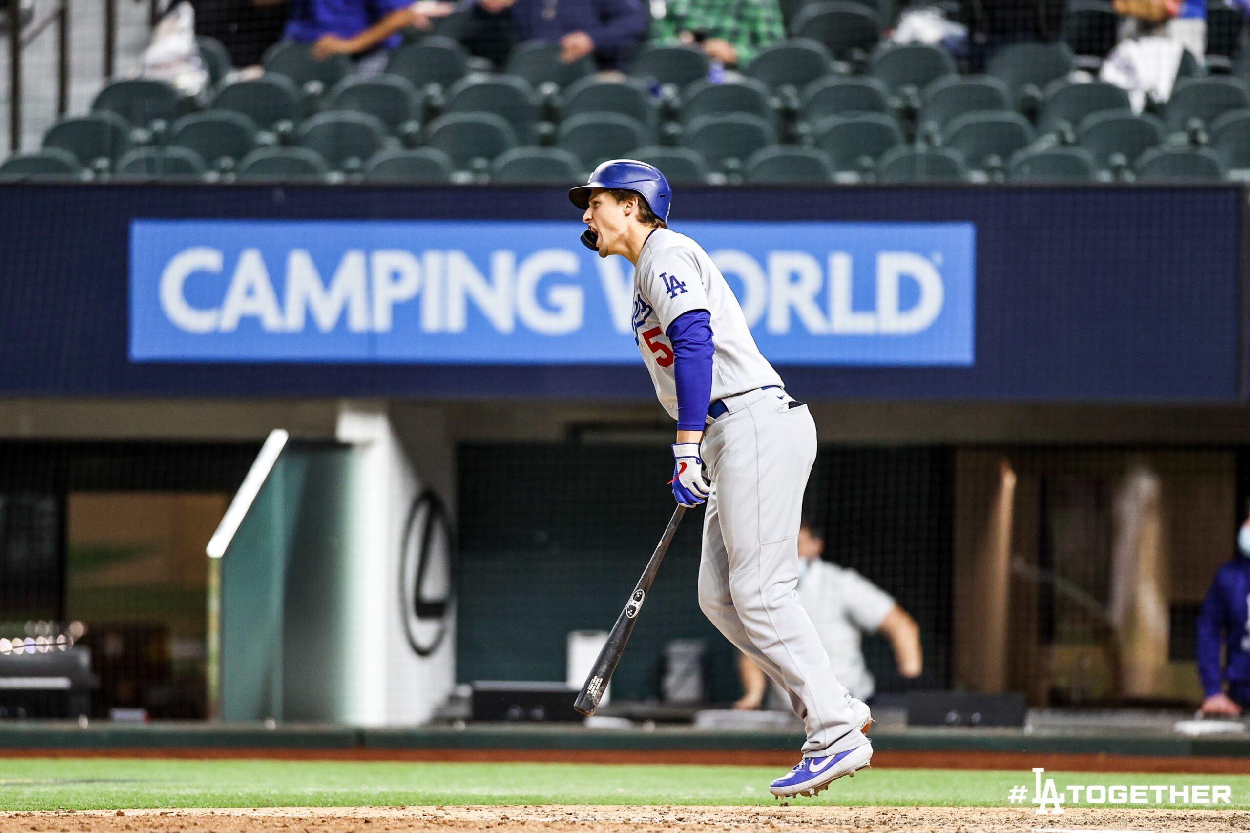 ¡Siguen con vida! Dodgers no se dan por vencidos ante los Bravos.