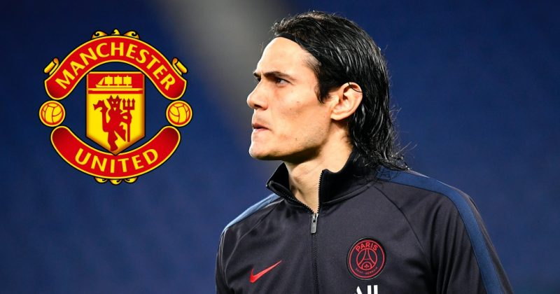 Edinson Cavani se convertirá en nuevo refuerzo del Manchester United.