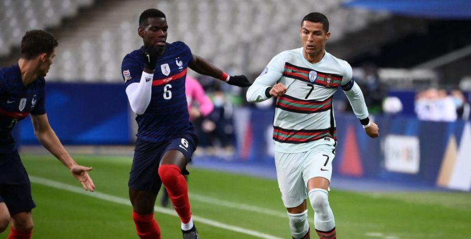 Francia y Portugal empataron sin goles por la Liga de Naciones de Europa.