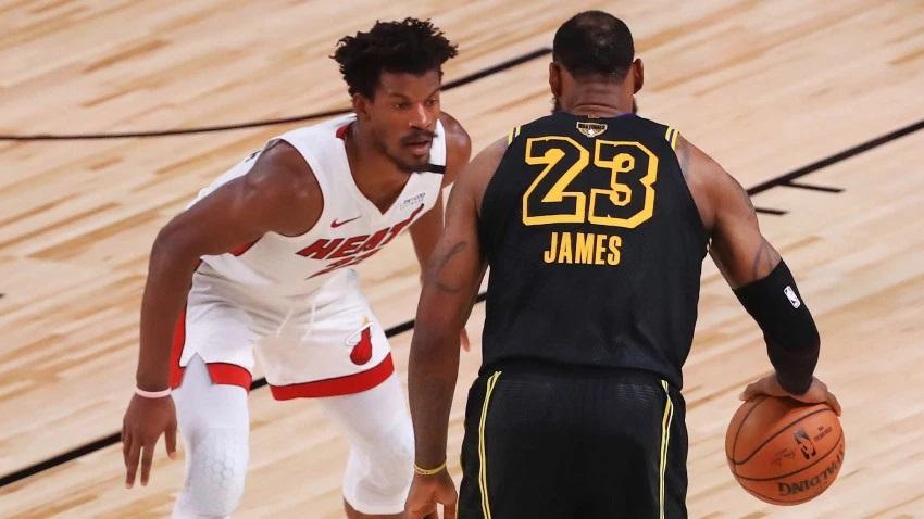 Heat derrota a los Lakers y obliga a un sexto juego en la finales de la NBA.