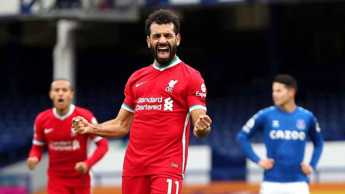 Mohamed Salah llegó a 100 goles con el Liverpool.