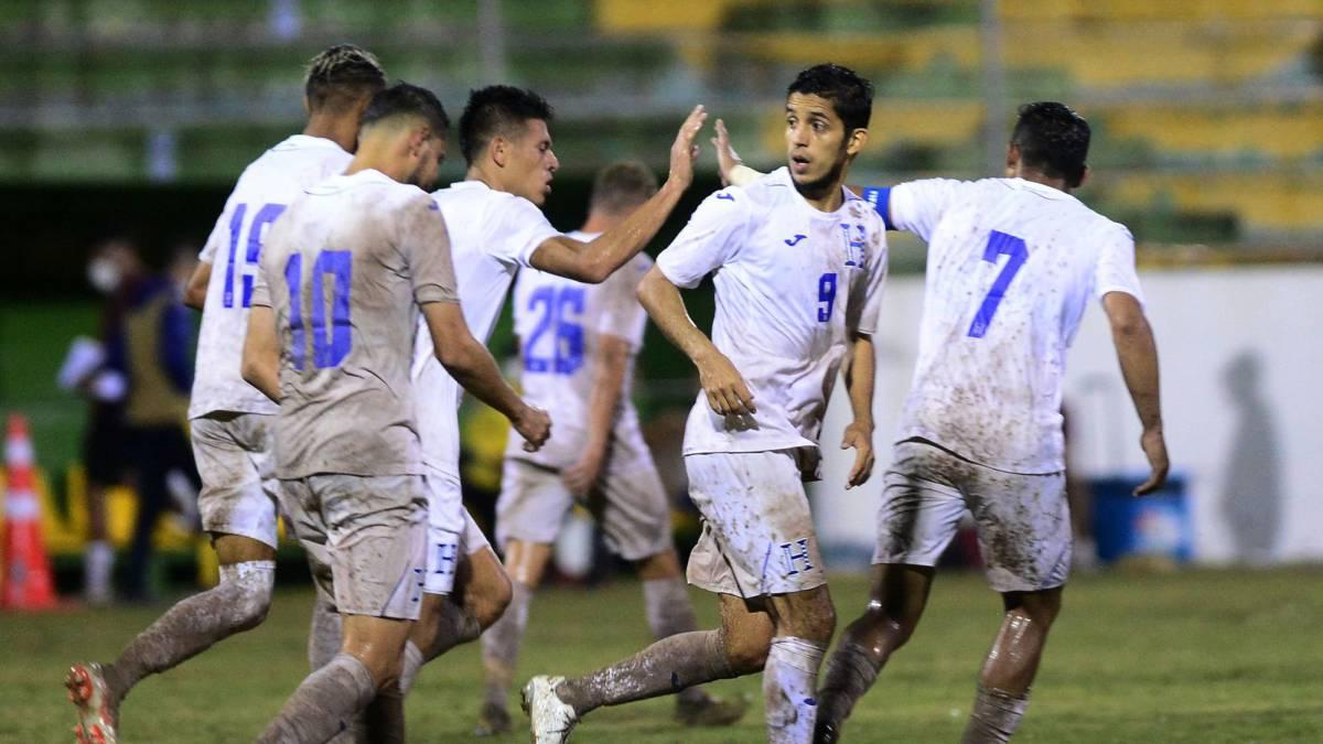 Honduras rescató el empate ante Nicaragua en el último minuto.