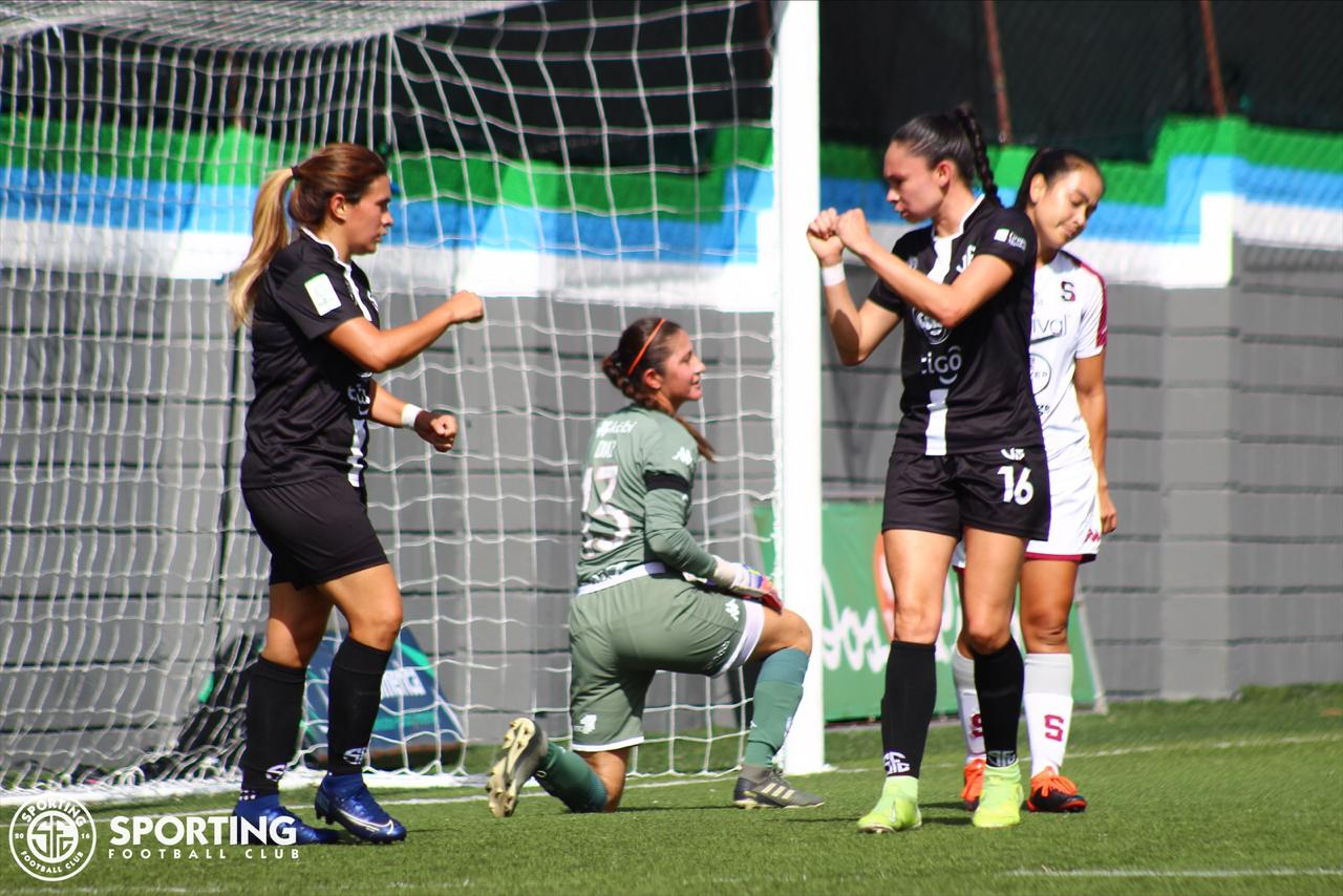 Sporting FC frenó al Saprissa y con ello Herediano es el nuevo líder de la Liga Femenina.