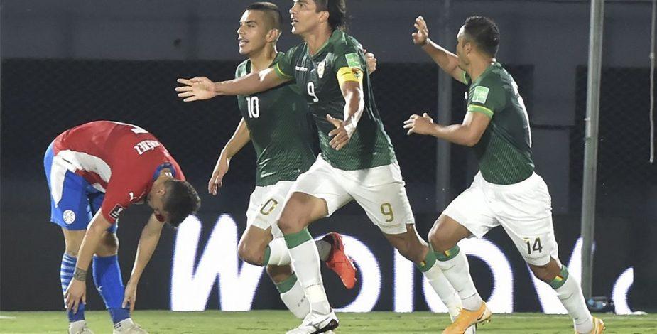 Bolivia sumó su primer punto de las Eliminatorias en Conmebol empatando en Paraguay.
