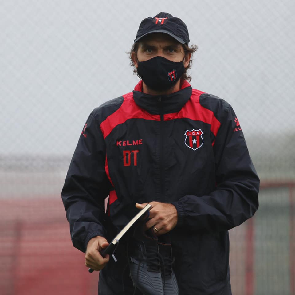 """Andrés Carevic: """"Habíamos logrado el primer objetivo, hoy el segundo pero no voy más allá""""."""
