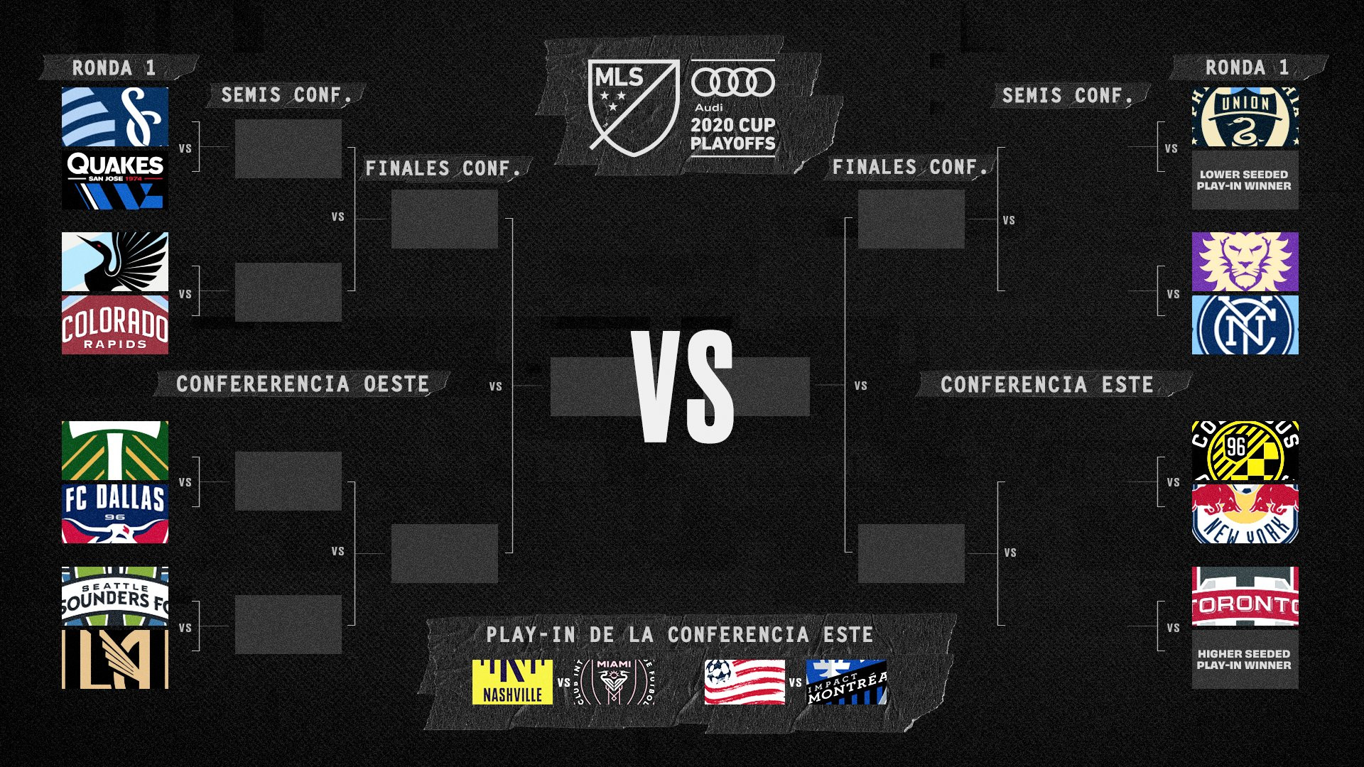 Seis fubolistas ticos jugarán los playoffs en la MLS.